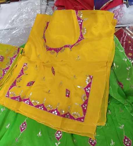 Ladies Rajputi Half Pure Poshak