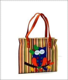 Ladies Shoulder Jute Bag