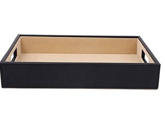 Leatherette Tray