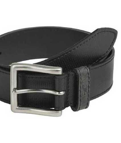 Mens Black Leather Belts, Length: 32 - 42 cm