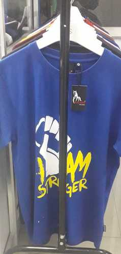 Mens Round Neck Short Sleeves T Shirt