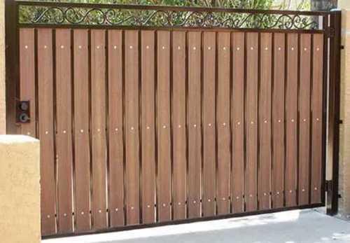 Metal Main Gate for Home, Height: 6-7 Feet
