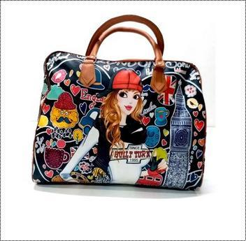 Polyester Ladies Hand Bag