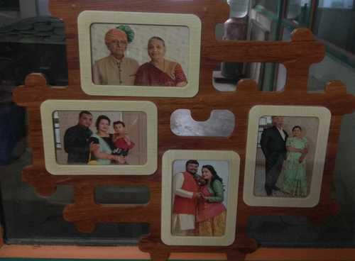 Pure Wooden Photo Frame