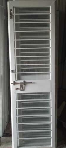 White Aluminum French Doors