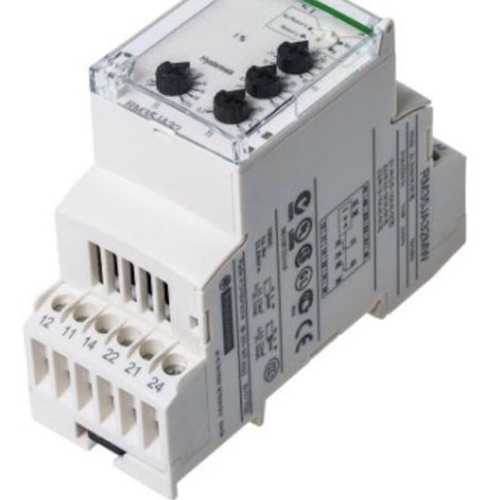 White Current Monitoring Relays