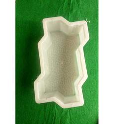 Zig Zag Silicone Plastic Paver Block Mould