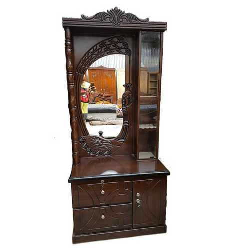 Dressing Table With Glass Mirror