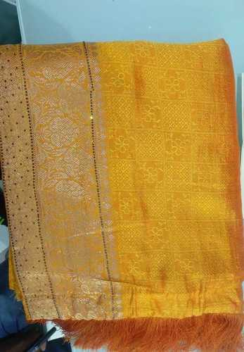 Easily Washable Embroidery Cotton Printed Sarees