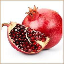 Fresh Red Pomegranates for Making Juice and Syrups