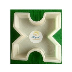 Grass Silicon Plastic Paver Block Mould