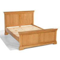 Hard Wooden Double Bed