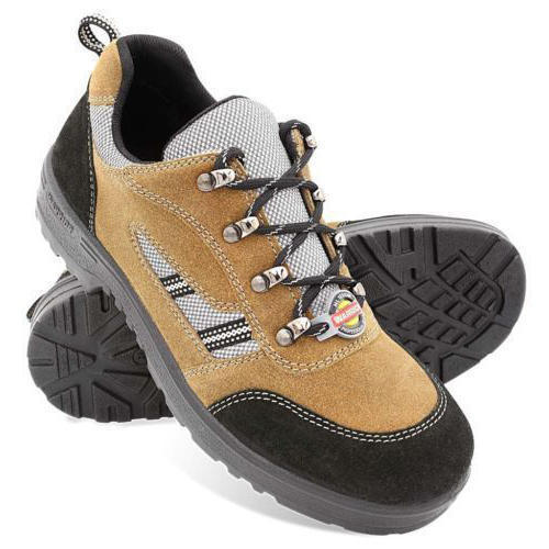 Men Leather Casual Safety Shoes