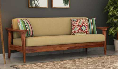 Modern Look Wooden Sofa