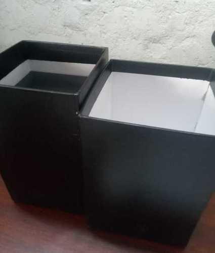 Plain Black Cardboard Boxes
