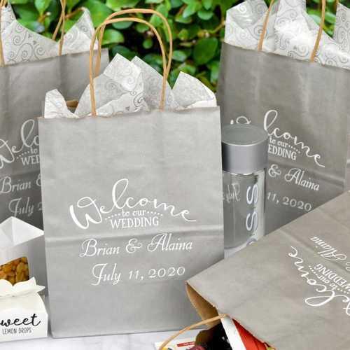 Printed Wedding Gift Bag