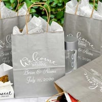 Printed Wedding Gift Bag