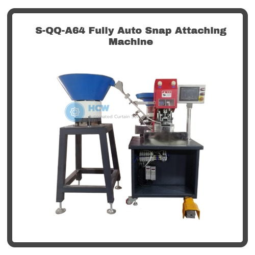 S-QQ-A64 Fully Auto Snap Attaching Machine