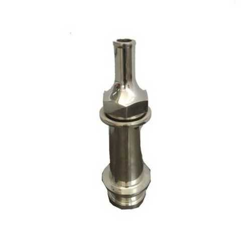 Stainless Steel Fire Nozzle, Size: 1/2Inch, 7KG/CM2