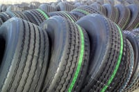 Used Truck Solid Tyres