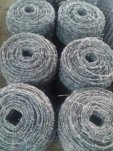 Barbed Wire Mesh for Industrial Safety