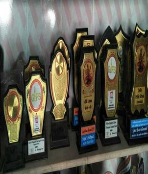 Brass And Plastic Trophies