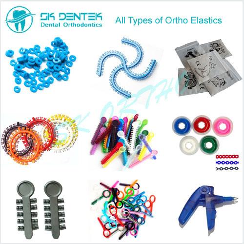 Dental Orhhodontic Elastomerics Orthodontic Ligature Tie Power Chain O Ring