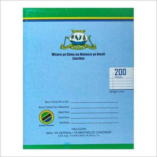Exercise Book for Students