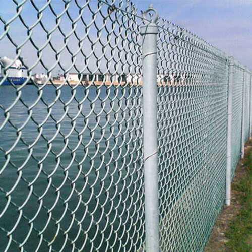 Galvanized Iron Chain Link Fence