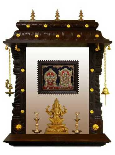 Hard Wooden Portable Temple
