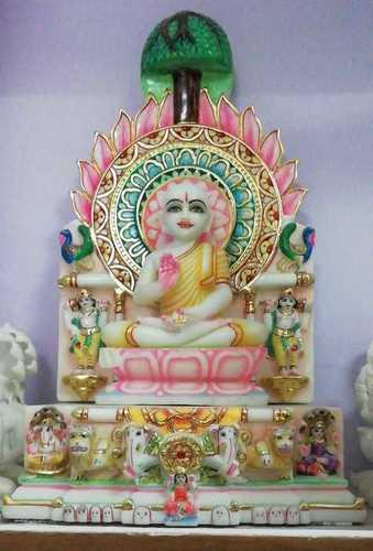 Marble Lord Vaishnav Statue