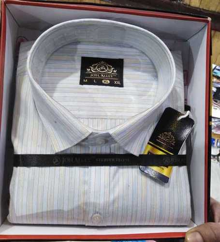 Mens Casual Full Sleeves Shirt