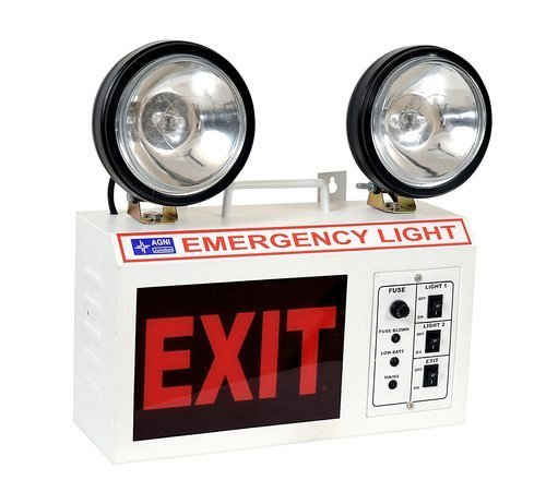 Portable Emergency Light With LED Light Source