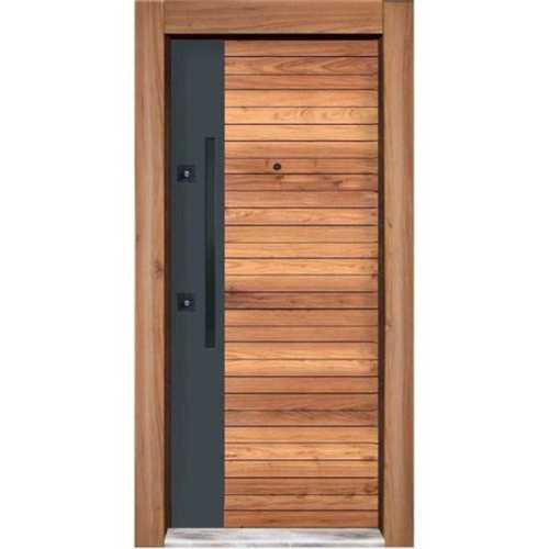 Precisely Made Wooden Safety Door
