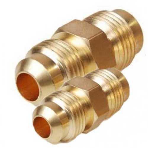 Round Shape Brass Flare Union