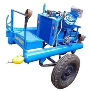 Trolley Mounted Tractor Air Compressor