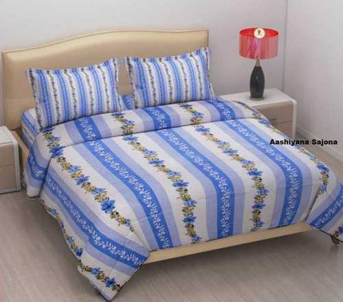 Velvet Printed Bed Sheets