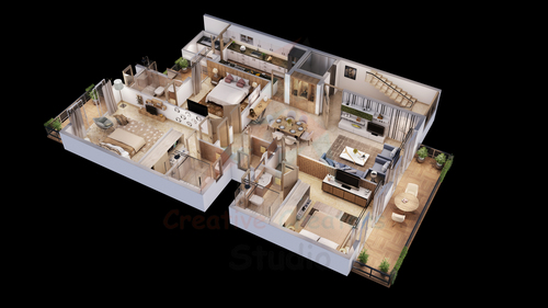 3D House Map Designing Services