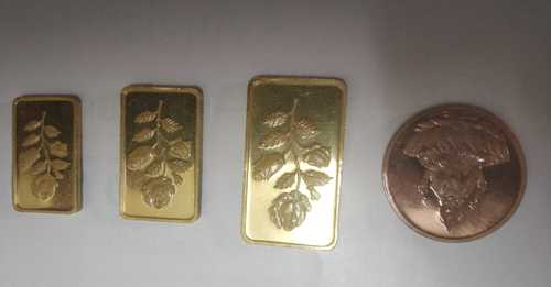 All Shaped Gold Coin Dies