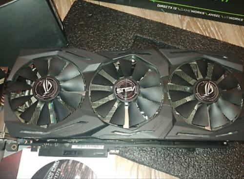 ASUS Republic of Gamers Strix GeForce GTX 1080 TI 11GB GDDR5X Graphics Card
