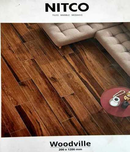 Brown Nitco Floor Tiles