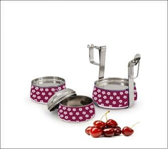 Coloured Stainless Steel Tiffin