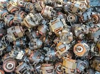 Electric Motor with High Copper