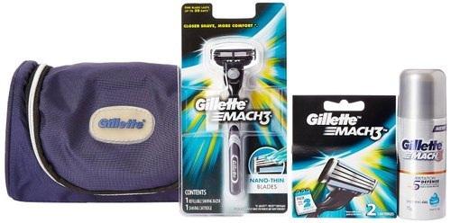 Gillette Mach3 Travel Kit