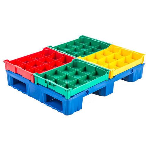 Industrial Multicolor Plastic Pallets