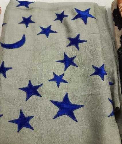 Ladies Woolen Printed Shawl