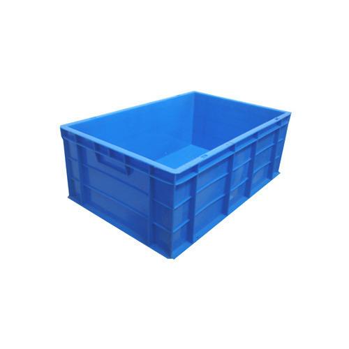 Light Blue Plastic Crates