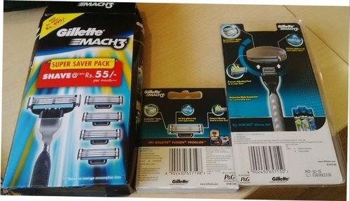 Men's Gillette Mach 3 Disposable Cartridge Razor
