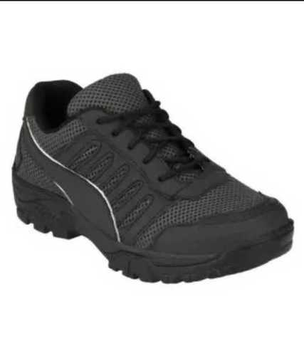 Mens Casual With Laces Black Shoes