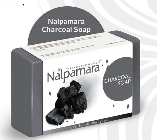 Nalpamara Charcoal Soap For Bath